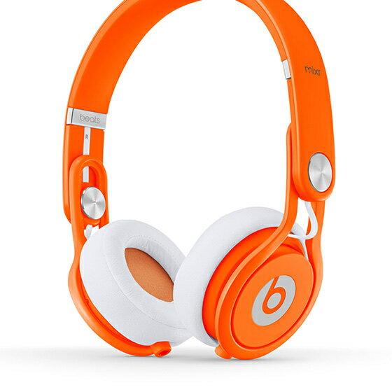 Beats Mixr【螢光橘】Headphones可摺疊耳機 先創公司貨