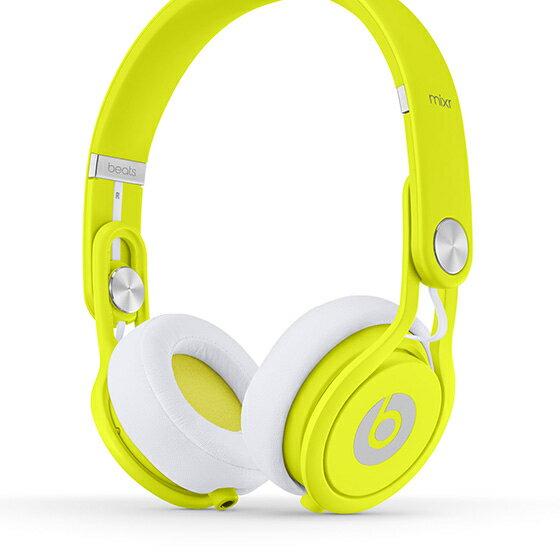 Beats Mixr【螢光黃】Headphones可摺疊耳機 先創公司貨