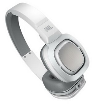 JBL J88 高品質頂級旗艦大型全罩式耳機(銀白色)