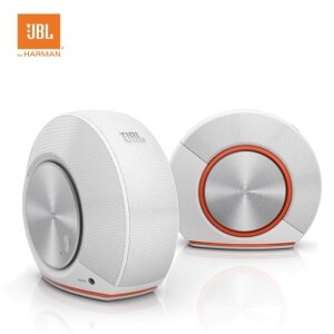 JBL PEBBLES 電腦多媒體喇叭【白色】USB供電喇叭
