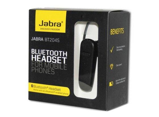 Jabra BT2045 輕巧雙待機藍牙耳機 先創公司貨