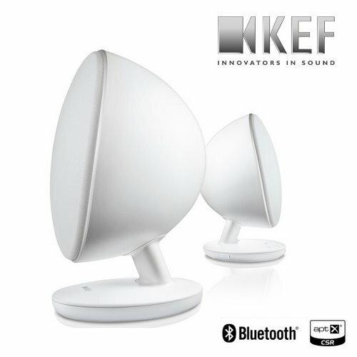 <br/><br/>  英國 KEF EGG【白】無線藍芽音樂系統 多媒體喇叭 高解析音質<br/><br/>