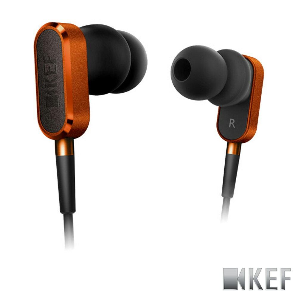 歌手方大同代言 英國 KEF M100 日落橙 鋁合金 10mm釹磁鐡單體 耳道式耳機