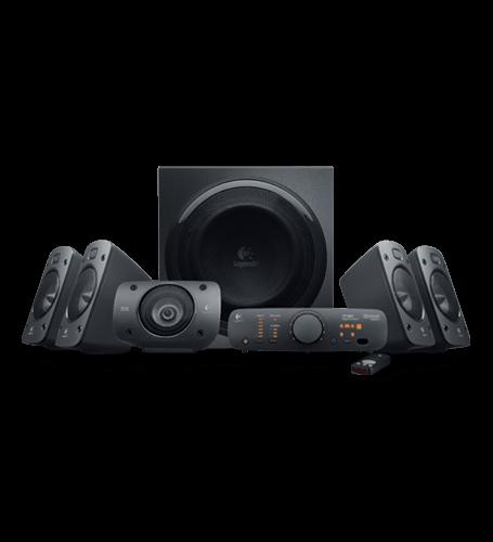 <br/><br/>  Logitech 羅技 Z906 環繞音效音箱系統 環繞音效 5.1聲道THX認證喇叭<br/><br/>