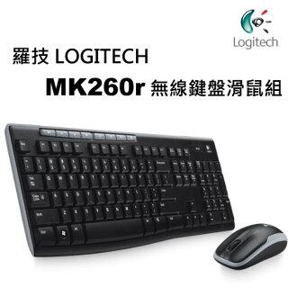 Logitech 羅技 MK260r 2.4G無線鍵盤滑鼠組