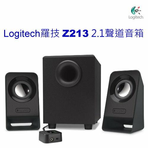 <br/><br/>  Logitech 羅技 Z213 2.1聲道多媒體音箱 低音飽滿<br/><br/>