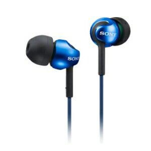 SONY MDR-EX110LP 藍 金屬繽紛入耳式耳機 耳道式耳機 Y 型耳機線 8 Hz – 22,000 Hz