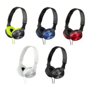 SONY MDR-ZX310AP 摺疊耳罩式耳機 五色 輕巧 方便收納 潮流色彩