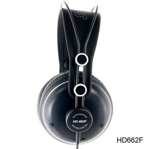 Superlux HD662F 專業監聽耳機 封閉式 耳罩式 頭戴式 公司貨 另有HD662B/HD-662