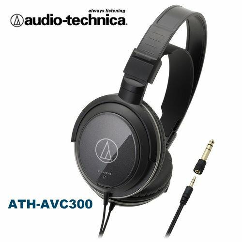 audio-technica鐵三角 ATH-AVC300 密閉式動圈型耳機 高音質CCAW捲繞式音圈