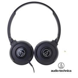 audio-technica 鐵三角 ATH-S100 街頭DJ風格可折疊式頭戴耳機【黑】耳罩式