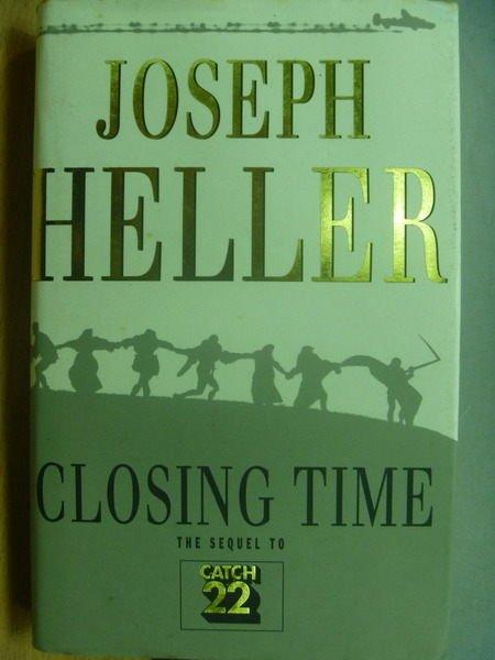 【書寶二手書T9/原文小說_MQW】Closing Time_Joseph Heller