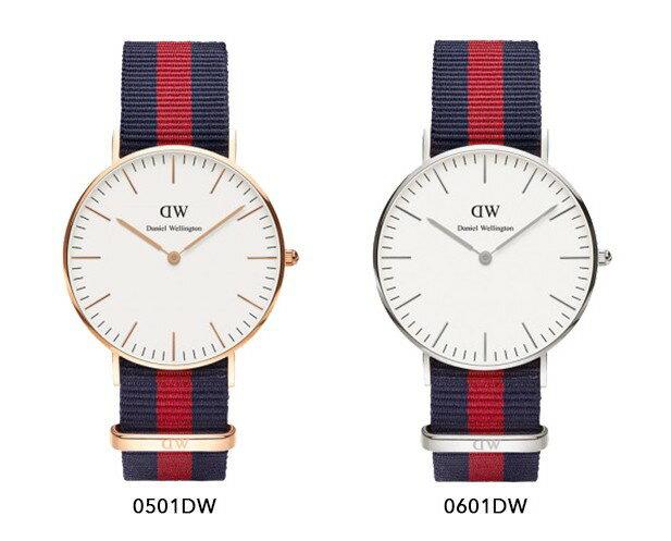 瑞典正品代購 Daniel Wellington 0501DW 玫瑰金 尼龍 帆布錶帶 女錶 手錶腕錶 36MM 1