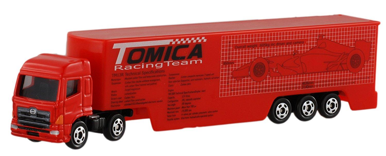 X射線【C313014】Tomica 紅色貨車 ,玩具車/ 迴力車/模型/玩具