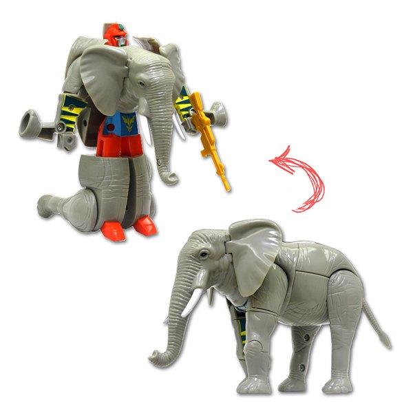【888便利購】大象變體機器人(ST)(2556D)