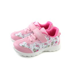 Hello Kitty 凱蒂貓 運動鞋 魔鬼氈 粉紅 中童 童鞋 719812 no787