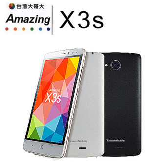 TWM Amazing X3S (4G-LTE) 5 吋四核智慧型手機(1G+8G) TWMX3S 好買網