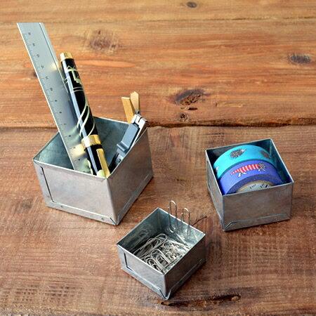 喜鵲先生1號店:電鍍收納盒組(正方形)