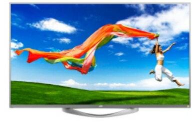 本月破盤價2台 JVC 日本工藝頂級65吋 4K 智慧聯網液晶電視65U~3年保固 贈 山水無線抬燈