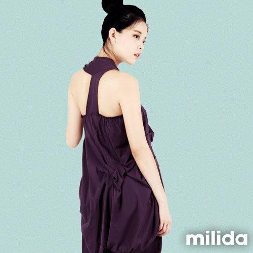 【Milida,全店七折免運】-春夏商品-無袖款-露背小禮服 0