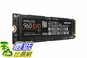 [106美國直購] 記憶體條 Samsung 960 EVO Series - 250GB PCIe NVMe - M.2 Internal SSD (MZ-V6E250BW)