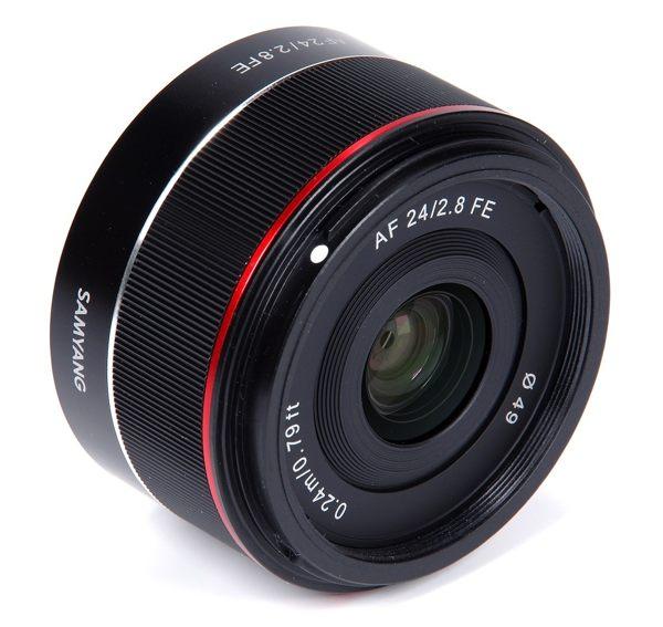 【新博攝影】SAMYANG FE 24mm F2.8 超輕便廣角定焦鏡頭 加贈TIFFEN 49UV、拭鏡筆