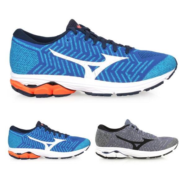 (再折$150)MIZUNOWAVEKNITR2男慢跑鞋(免運路跑美津濃【02017340】≡排汗專家≡