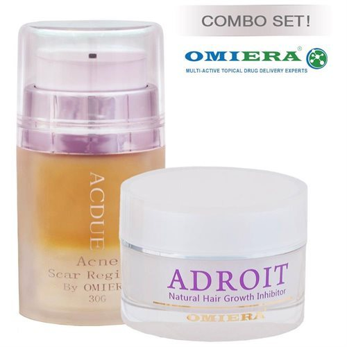 Omiera Labs Acne Breakouts After Hair Removal 2 pc Skin Care Set c6c45e1bb093fba9e290961fe9dc4594