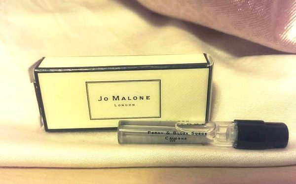 *禎的家*英國香水 Jo MALONE 牡丹胭紅 Peony & Blush Suede 1.5ML試管小香限量發行