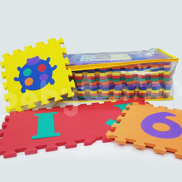小奶娃婦幼用品:台灣佳兒-EVA安全舒柔巧拼地墊(遊戲墊)26片包
