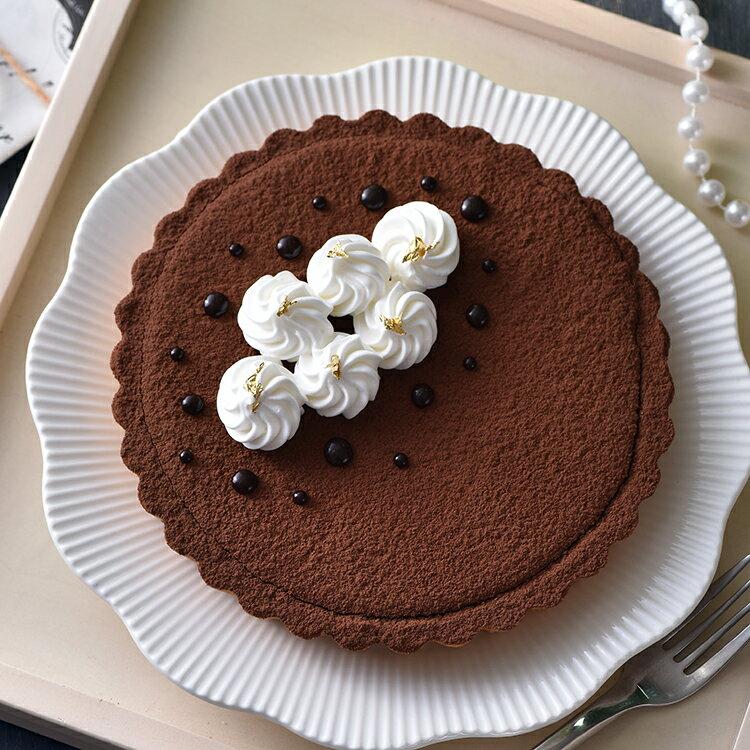 皇家比利時71%生巧克力派(6吋)★蘋果日報 母親節蛋糕【布里王子】