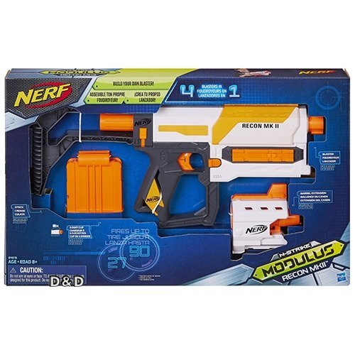 《 NERF 樂活打擊 》自由模組 - MK11偵查衝鋒槍