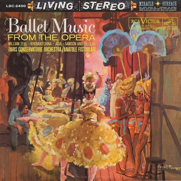 ~停看聽音響唱片~~CD~Ballet Music From The Opera:Pari