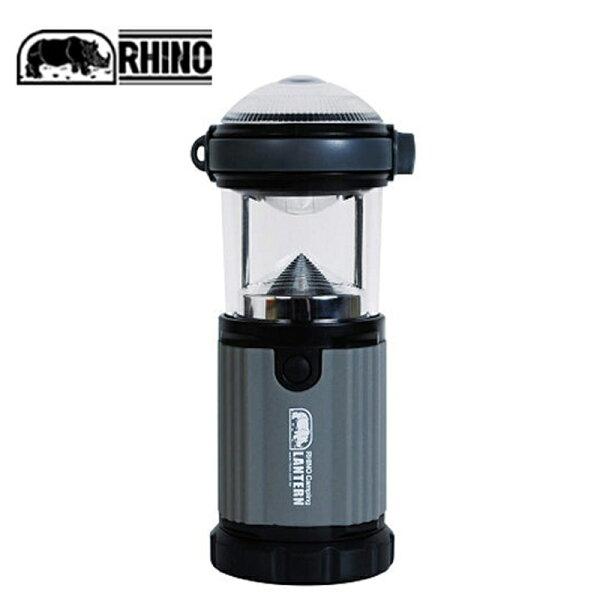 【露營趣】中和安坑附D型扣犀牛RHINOL-6LED兩用營燈155流明手電筒野營燈露營燈探照燈