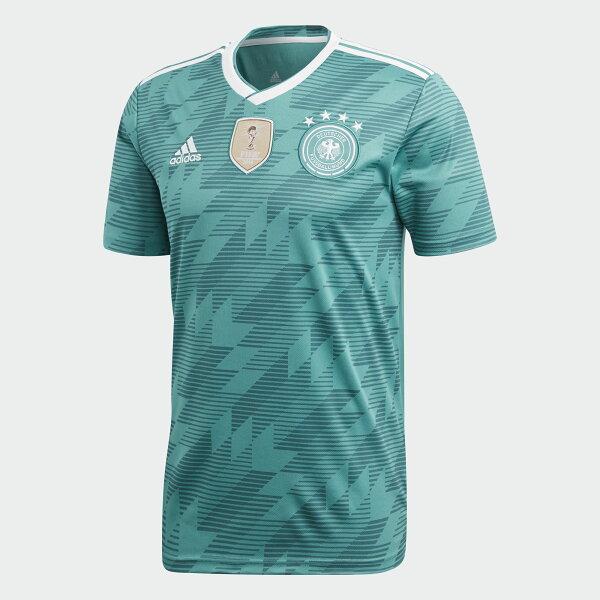 ADIDASGERMANYAWAYREPLICA男裝上衣短袖世足賽世界盃德國綠【運動世界】BR3144