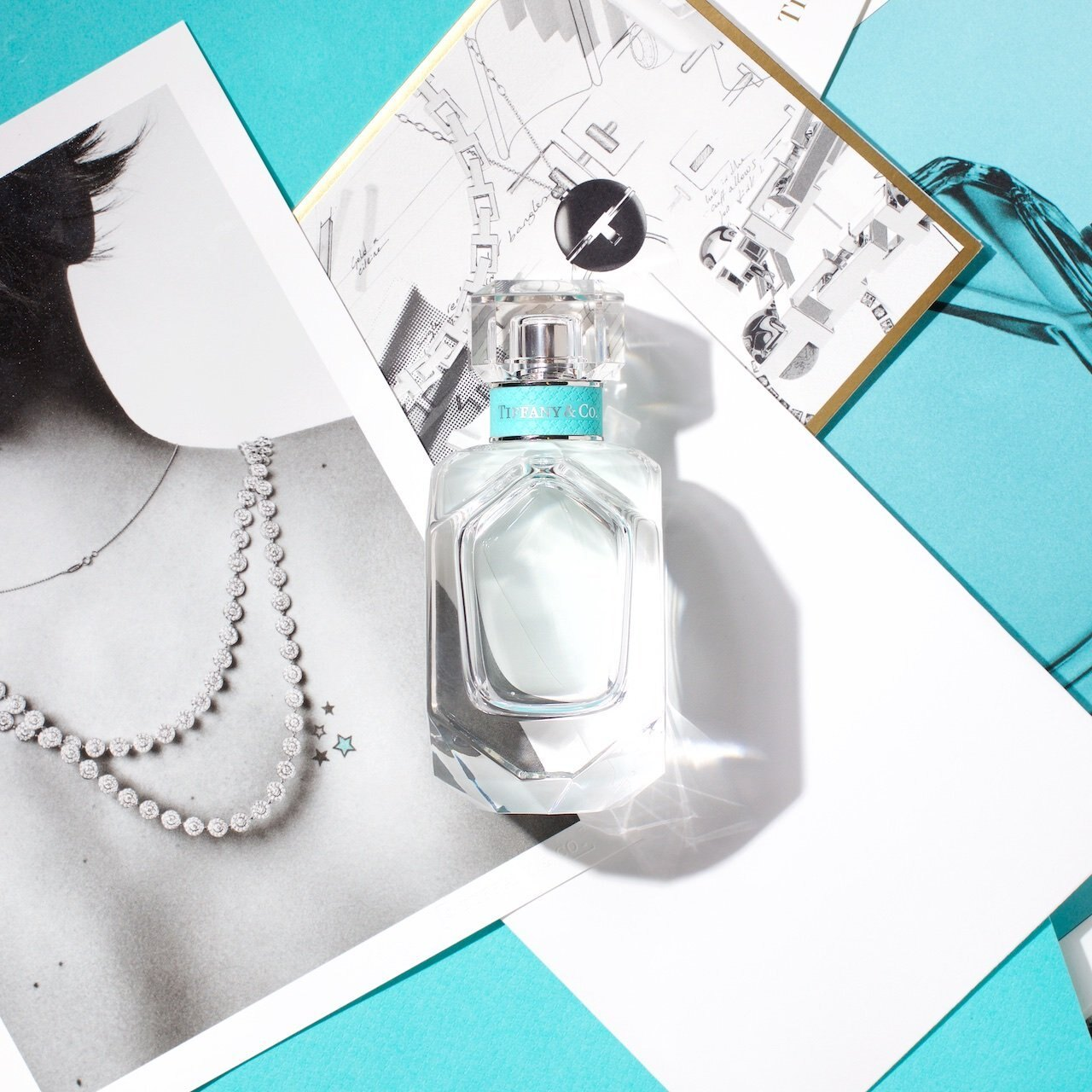 Tiffany & co. 同名 女性淡香精 75ml TESTER 裸瓶 無外盒◐香水綁馬尾◐