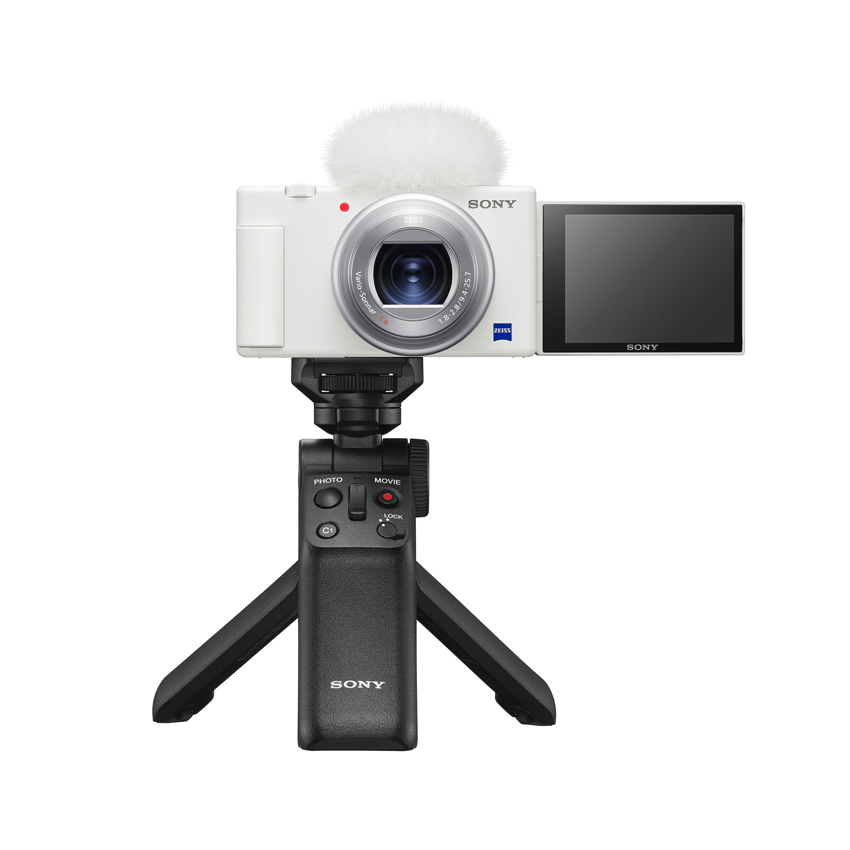 現折300【128G手持握把組合】SONY Digital camera ZV-1 zv1+GP-VPT2BT 手把+ECM-XYST1M麥克風 晨曦白公司貨 再送128G記憶卡+專用電池+專用座充+