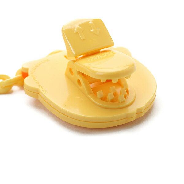 『121婦嬰用品館』黃色小鴨 安全造型奶嘴夾 2
