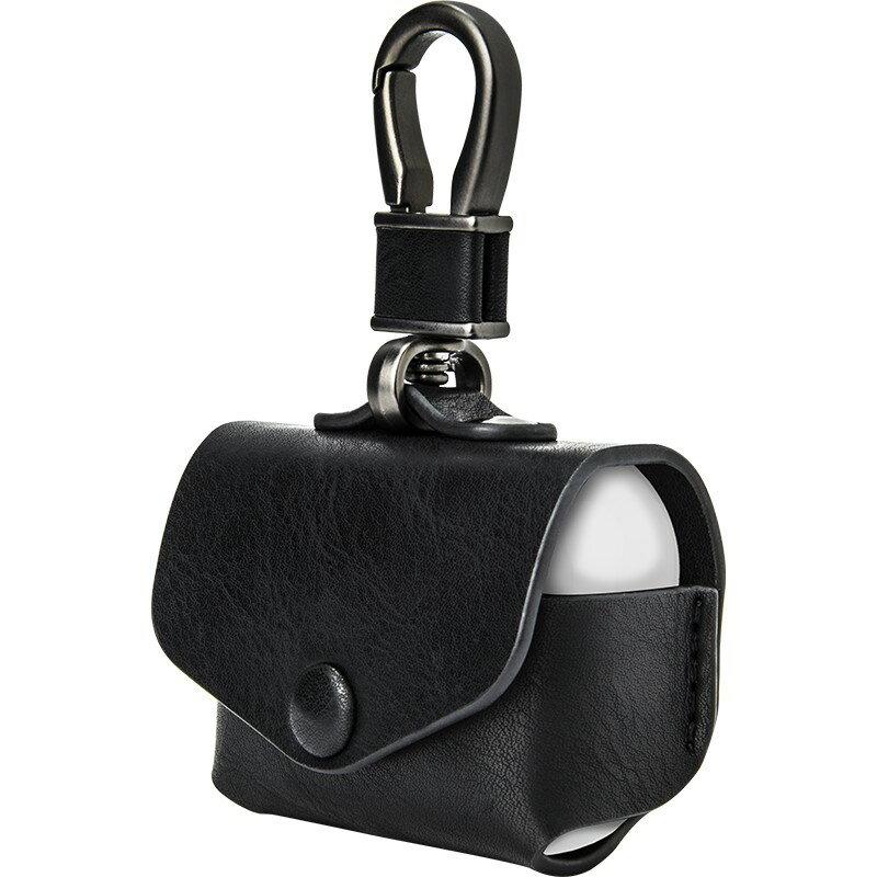 源自美國 公司貨 SwitchEasy WRAP AirPods Pro 耳機殼 耳機套 皮套 皮保護套 皮質皮革保護套 3