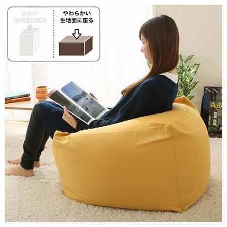 ★大型懶骨頭沙發 高45cm (布套另售) N-STRETCH L NITORI宜得利家居 7