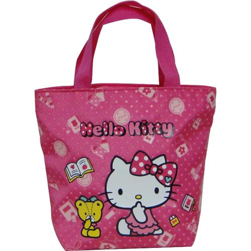 Hello Kitty 餃型手提袋-大