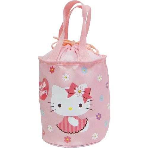 Hello Kitty圓形束口便當袋