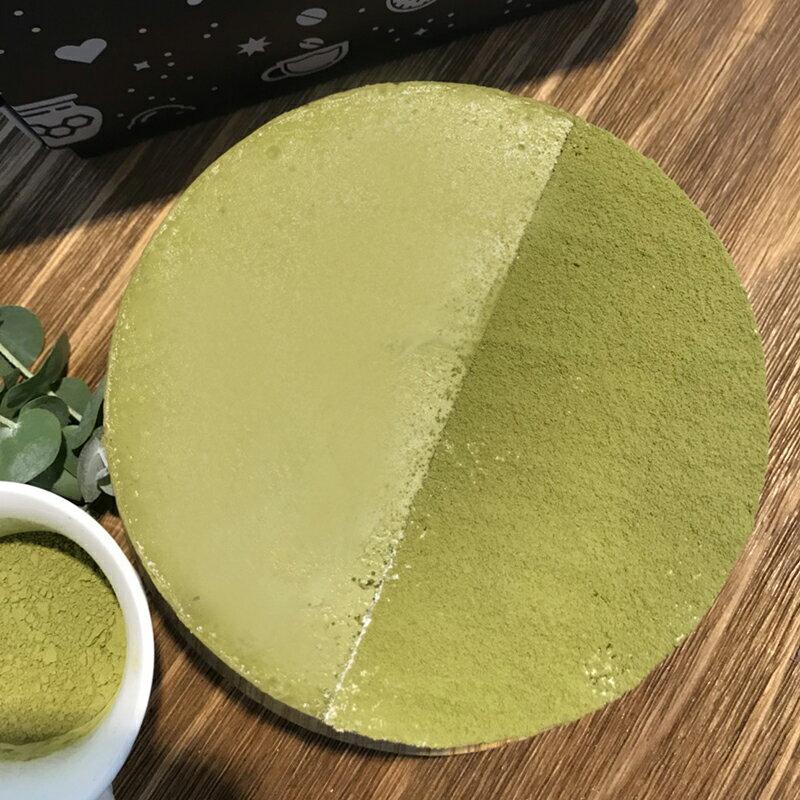 一抹綠影-抹茶起司蛋糕 乳酪蛋糕 抹茶控 下午茶 6吋 藍白小鎮