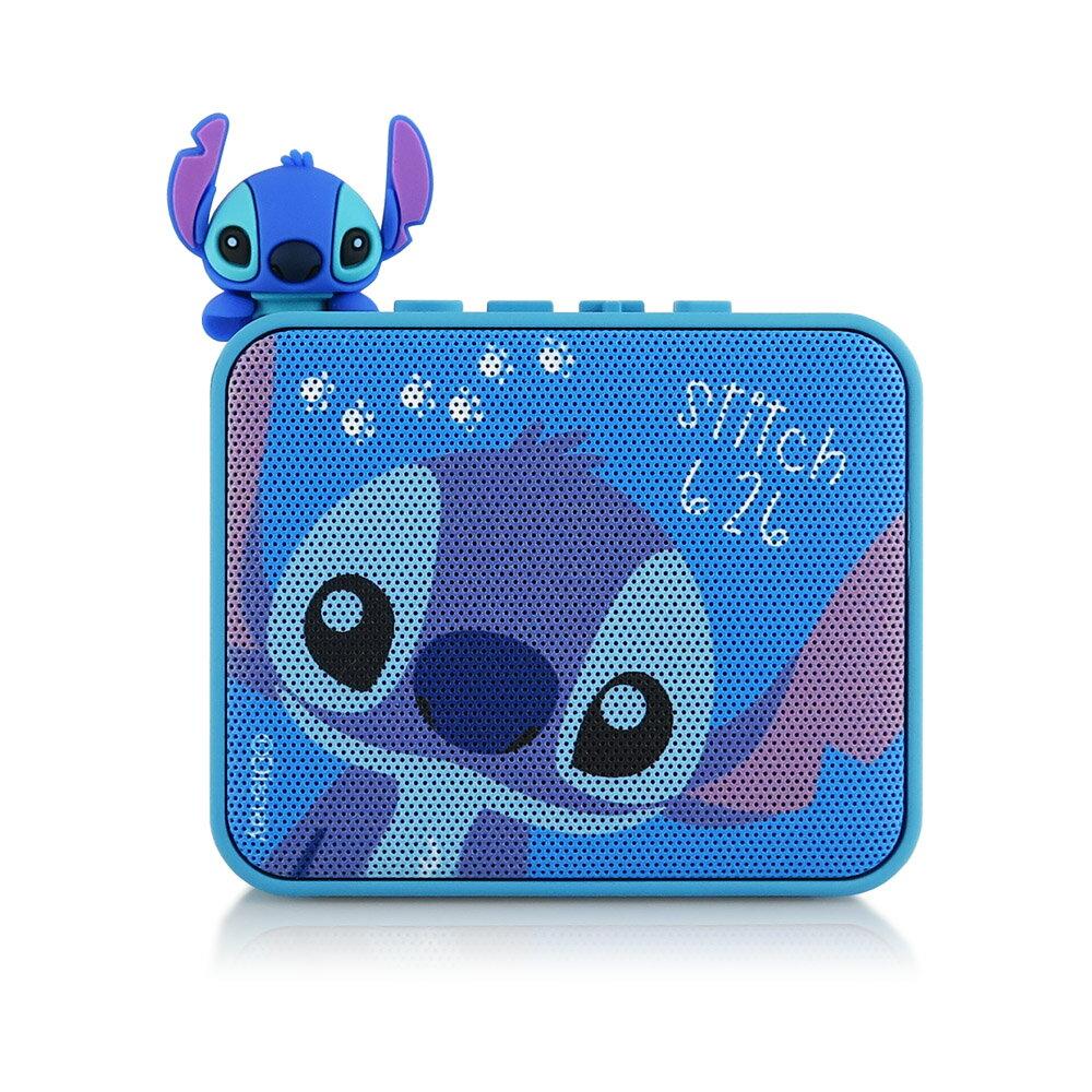 Disney迪士尼 公仔造型藍芽喇叭-史迪奇Stitch(星際寶貝)藍牙喇叭 音箱 正版3C