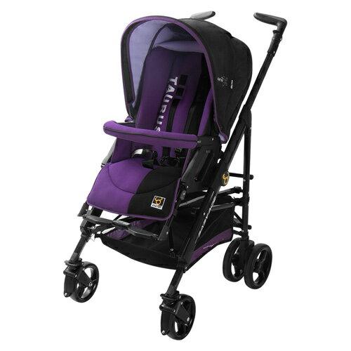 【奇買親子購物網】babyace taurus 時尚嬰兒推車(牛仔藍/海泥紫)