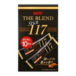 UCC 117隨身包咖啡10人(黑咖啡) UCC THE BLEND117 スティック▶全館滿499宅配免運