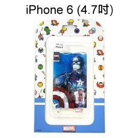 復仇者聯盟海報版透明軟殼 [美國隊長] iPhone 6 / 6S (4.7吋)【正版授權】