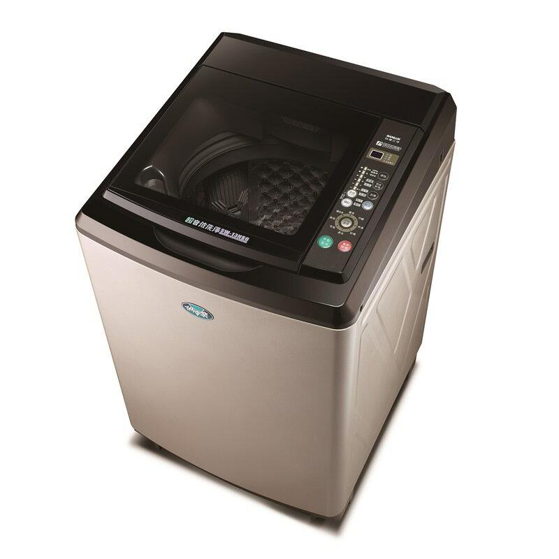 ★贈馬克杯2入【台灣三洋SANLUX】13kg鑽石內槽超音波單槽洗衣機(SW-13NS6)(含運費 / 基本安裝 / 6期0利率) 0