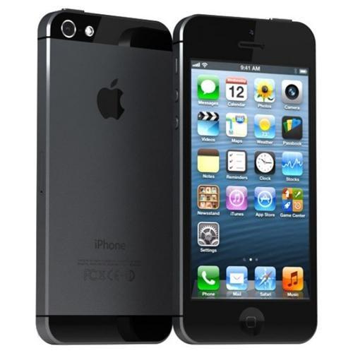 Apple iPhone 5 (Latest Model) - 32GB - Black & Silver ( ATT & Tmobile & Internationa GMS Carrier) Smartphone- Unlock