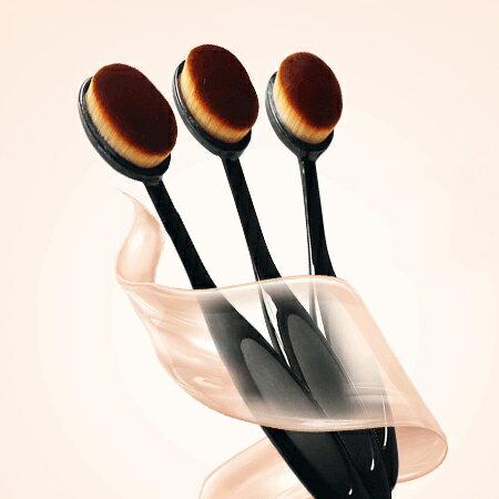 牙刷型粉底刷(單支入)超柔軟細密刷毛化妝刷具【N201911】